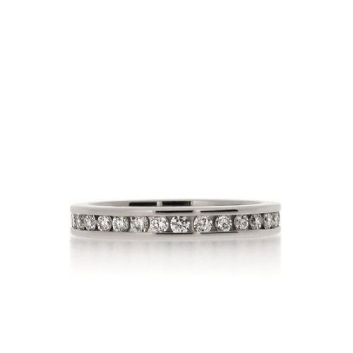 Channel-Set 0.66ct Diamond Full Eternity Ring